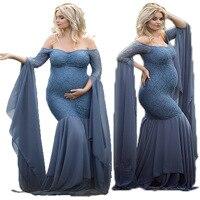 Lace pregnant women photography props dresses pregnant women clothes pregnant women dress photo pregnancy dress