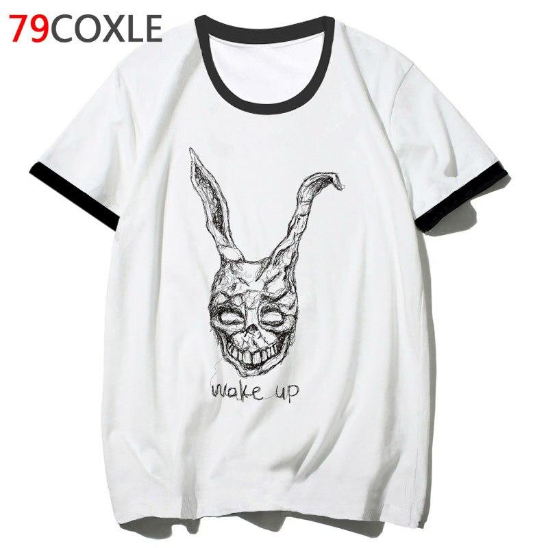 Donnie Darko T Shirt Hop Clothing T-shirt Top Tee 2019 Hip Men Funny For Streetwear Harajuku Tshirt School Male F2299