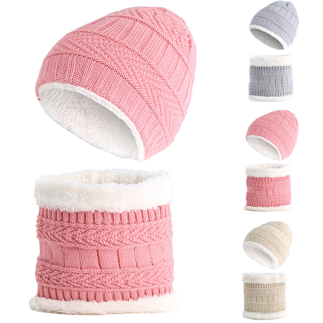 Kids Cashmere Hat Child Beanie Hip Hop Cute Cashmere Wool Cotton Hats Ski Beanie Winter Cap Skull Boys And Girls Factory Direct Selling Price Apparel Accessories Girl's Accessories