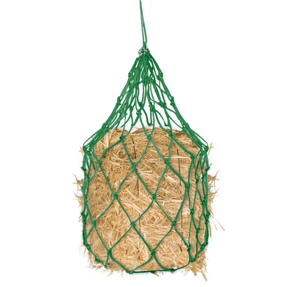 Лошадь мешок корма осел рюкзак для кормления дозатор корма сетка для сена Конный Подача питания