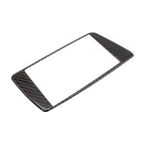 Image 2 - Panel de fibra de carbono para salpicadero de coche, cubierta de marco de pantalla, para Audi Q5, 2009, 2010, 2011, 2012, 2013, 2014, 2015, 2016, 2017