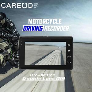 Image 3 - Universal Motorrad Kamera DVR 3,0 Zoll HD Display Motor Dash Cam Mit Spezielle Dual track Objektiv Breite Bereich Vorne hinten Recorder