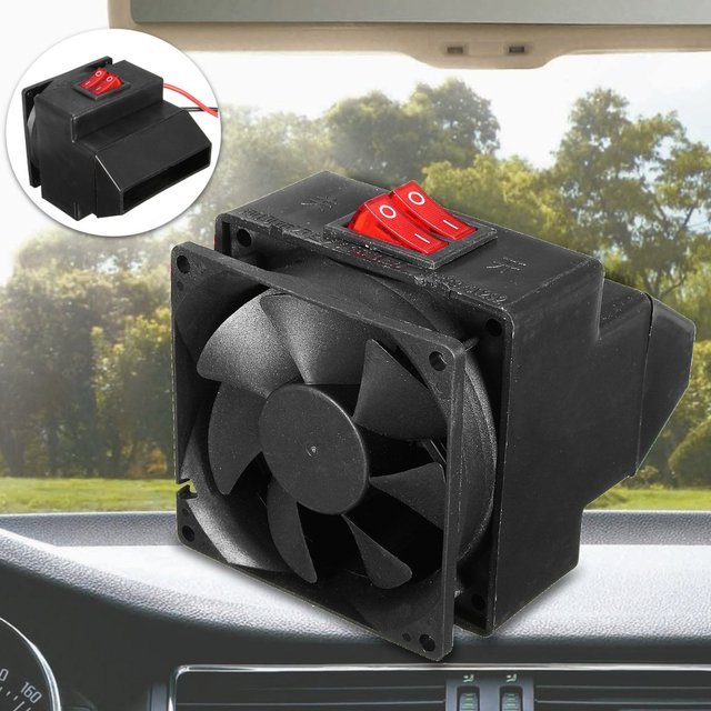 12v 200w Car Heating Fans Adjust Electric Air Heater Fan Temperature Windscreen Demister Defroster Warmer Er