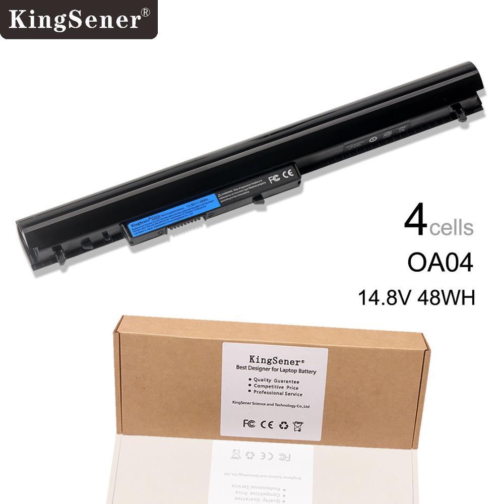 KingSener New OA04 OA03 Laptop Battery for HP 240 G2 CQ14 CQ15 HSTNN-PB5S HSTNN-IB5S HSTNN-LB5S 740715-001 TPN-C113 14.8V 48WH new original 7 4v 21wh da02xl battery for hp tpn p104 664399 1c1 hstnn ib4c 694502 001 free shipping
