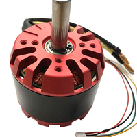 1x 6354 180KV Brushless Motor High Power 1500W 24V for Belt Drive Balancing Scooters Electric Skateboards with Motor Holzer