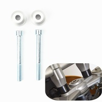 For BMW F650GS 2008 2012 F700GS 2016 2017 F800GS 2007 2017 Handlebar Riser Kit Moves Bar Up 20mm 7/8