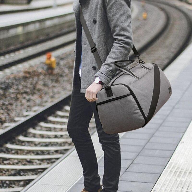 Sacs de rangement de voyage vêtements couverture imperméable organisateur costume manteau cosmétique chaussures à glissière accessoires de caisse d'emballage