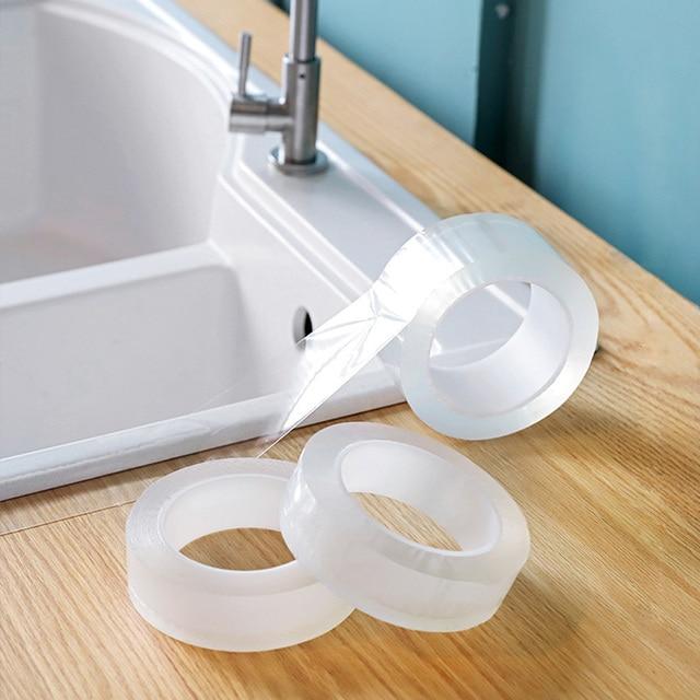 Ściany linii rogu naklejki ceramiczne naklejki nieprzemakalne pcv kuchnia taśmy akcesoria łazienkowe siebie przezroczysty klej naklejki