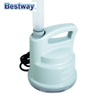 58230 Bestway CE certified Corrosion Proof POOL DRAIN PUMP To Drain Pool Water with 5M/16.4Ft Hose & 2 Adaptors to Garden Hose