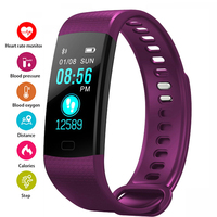 Smart watch Women Men Running Cycling Climbing Sport Watches Health Pedometer LED Color Screen Watch Android & IOS reloj mujer