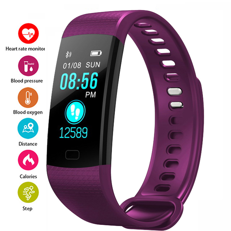 Smart watch Women Men Running Cycling Climbing Sport Watches Health Pedometer LED Color Screen Watch Android & IOS reloj mujerSmart watch Women Men Running Cycling Climbing Sport Watches Health Pedometer LED Color Screen Watch Android & IOS reloj mujer