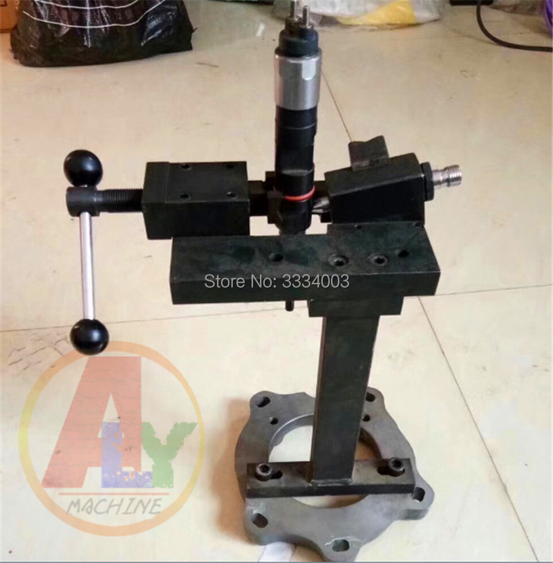 Universal Diesel Common Rail  Injector Shelf Fix Stand Holder Clamping Tool,  Common Rail Injector Test Steel Frame