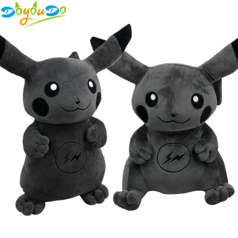 Movies & Tv Lovely 25-50cm Dark Lightning Pikachu Plush Toy Cartoon Pocket Monster Pikachu Plush Soft Stuffed Animals Toys For Kids Children Gifts