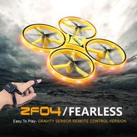Interactive Induction Drone Toys Quadcopter Intelligent Watch Remote Control UFO Drone Children Gift RC Helicopter