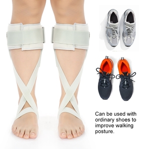Adjustable Foot Drop Orthosis Ankle Corrector Brace Support Protection Correction Splint Health Care(China)
