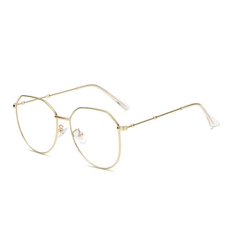 Zilead очки для близорукости в стиле ретро, металлические многоугольные очки для женщин и мужчин, прозрачные очки для близорукости, очки для дальнозоркости