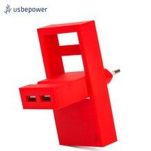Зарядное устройство USBepower ROCK цвет коралловый/ROCKC