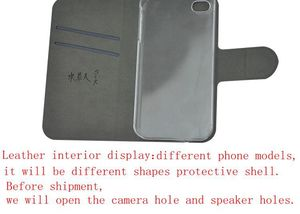 Image 2 - DIY Phone bag Personalized custom photo Picture PU leather case flip cover for Lenovo Z5S