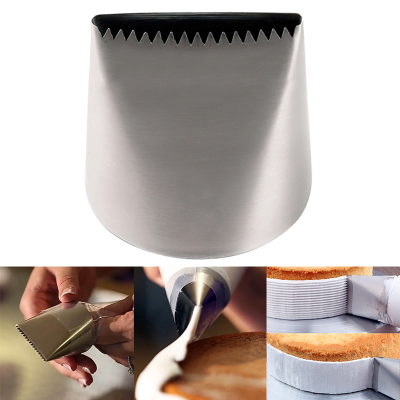 Pastry Tip Nozzle Extra Large Cream <font><b>Cake</b></font> <font><b>Decorating</b></font> Fondant <font><b>Cake</b></font> <font><b>Tools</b></font> Stainless Steel Icing Piping Baking Accessoire image