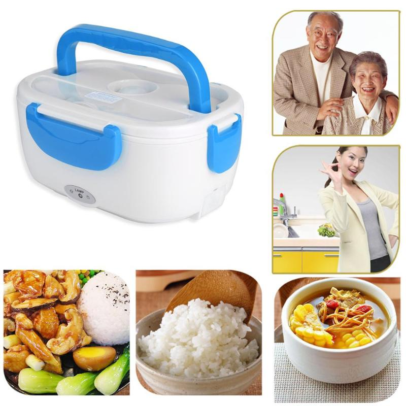 VODOOL Car-Accessories Food-Heater-Box Rice-Container Multi-Functional Office Electric-Heating title=
