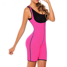 Neoprene Full Body Shaper Women Weight Loss Plus Size 5XL Shapewear Sauna Bodysuit Waist Trainer Corset Boneless Bustier