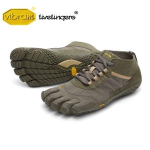 Image 1 - Vibram Fivefingers V Trek men Sneakers Outdoor Sports Five fingers Winter Comprehensive Training Hiking Mountain Climbing Shoes