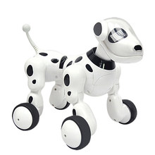 2.4G Wireless Remote Control Smart Robot Dog Kids Toy Intelligent Talking Robot Dog Toy Electronic Pet Birthday Gift(China)