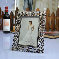 Desktop Decorative European Metal Picture Photo Frame For Wedding Gifts Mpf001