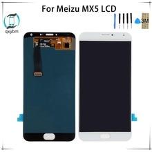 5,5 дюйма для Meizu MX5 ЖК-дисплей Дисплей Сенсорный экран планшета Ассамблеи Запчасти для ремонта сенсорного экрана с инструментами 3 м Стикеры