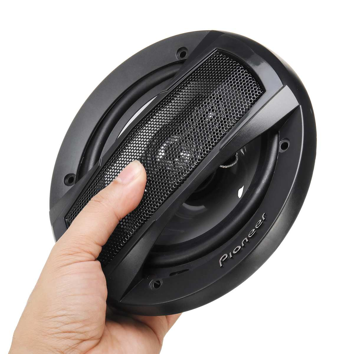 6Inch Dual Car Speaker 2PCS 91dB Car Subwoofer Strong Loudspeaker Car Rear / Front Door Audio Music Stereo Coaxial Speaker