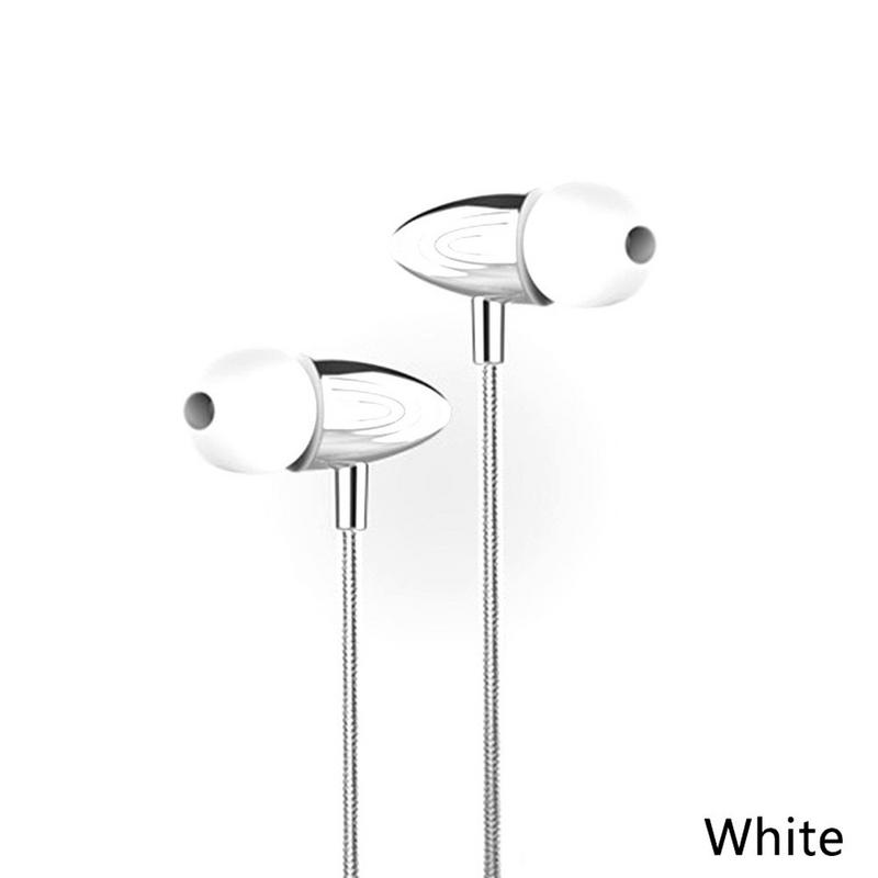 Image 2 - Portable Earphones Metal Wired In ear Style Mobile Phone Earbuds Stereo Hd Sounds Surrounding Devices With Mic Hands free Calls-in Phone Earphones & Headphones from Consumer Electronics