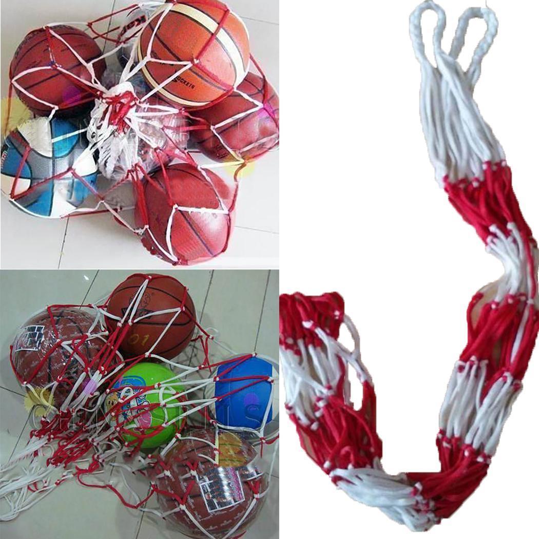 Outdoor Sports 1.2 M Basketball Football Volleyball Net Bag 10 Ball Portable Basketball Soccer Ball Net Bag Dropshiping
