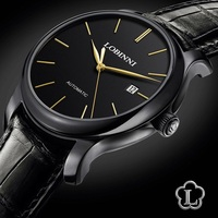 Luxus Marke Uhr LOBINNI Uhr Männer Japan Miyota Auto Mechanische Bewegung herren Uhren Saphir Wasserdicht relogio L12035-5