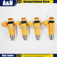 4 Pcs Fuel Injector 63P 13761 00 00 CDH275 Fit for Yamaha F150 Outboard 2004 2013
