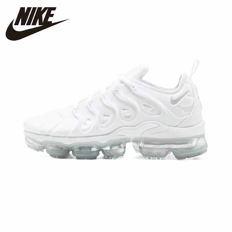 5cb43ec226f Nike Air Vapormax Plus Men Running Shoes New Arrival White Knight  Breathable Sports Air Cushion Sneakers