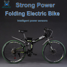 V 350 W / 500 8 12.5ah Lithium Battery Of The Electric Bicycle, Folding Bike Mtb Mountain Bicycle (type E)