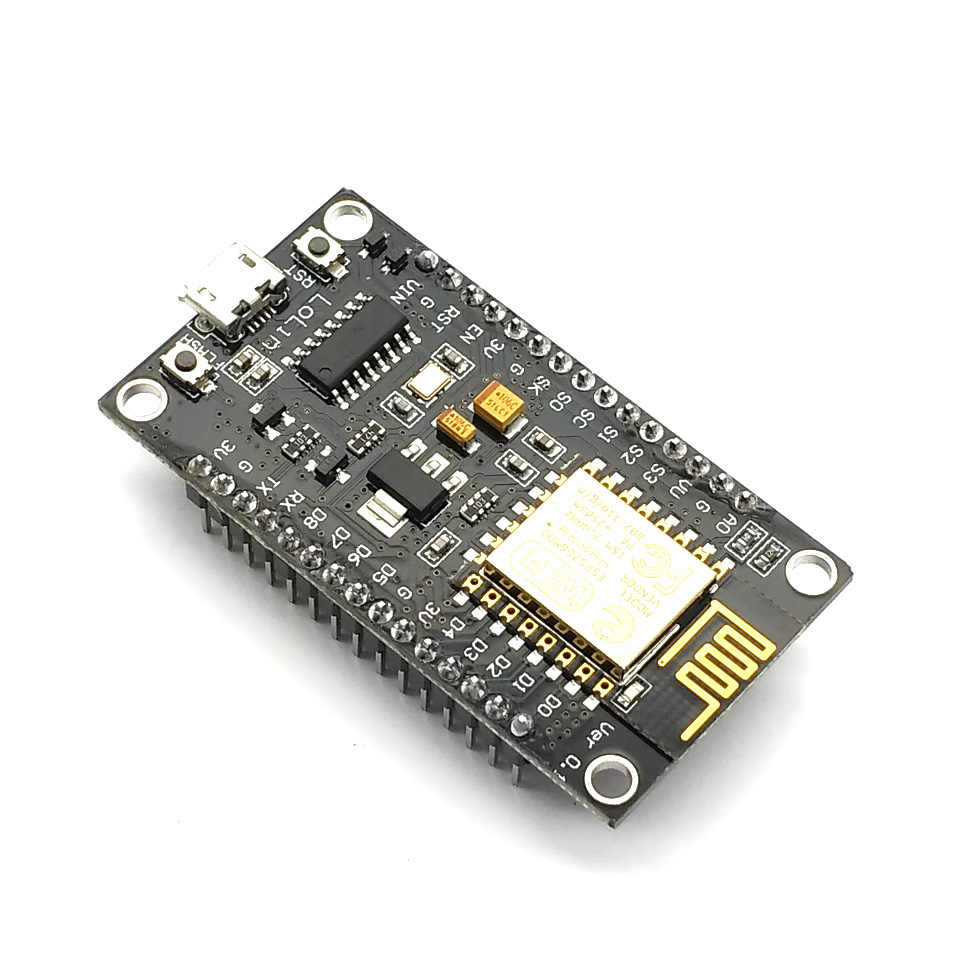 โมดูลไร้สาย NodeMcu V3 อินเทอร์เน็ต Lua WIFI ของคณะกรรมการพัฒนาการจาก ESP8266 PCB เสาอากาศและพอร์ต USB ESP-12E CH340
