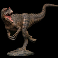Advance Sale Tiger grain coloring 2019 Produced Prehistoric Jurassic World Allosaurus Model Toy Gift Ornaments 1:35