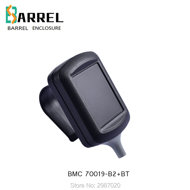 8 pcs lot 80 60 26 5mm small handheld plastic enclosure with handle abs instrument junction