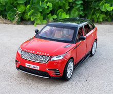 1:32 Scale Licensed Collection Car Model For Range Rover Velar Diecast Alloy Metal Luxury SUV Off Road Sound&Light Toys Vehicle