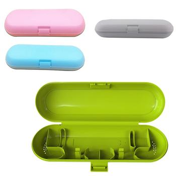 Electric Toothbrush Holder Travel Case For Braun for Oral B Camping Storage Case Box Outdoor Portable Tooth Brush Safe Holder 40 embroidery