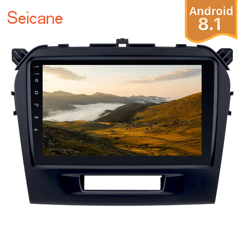 Seicane 9 2Din Android 8 1 Car GPS Autoradio HD Touchscreen 1 16GB For 2015 2016