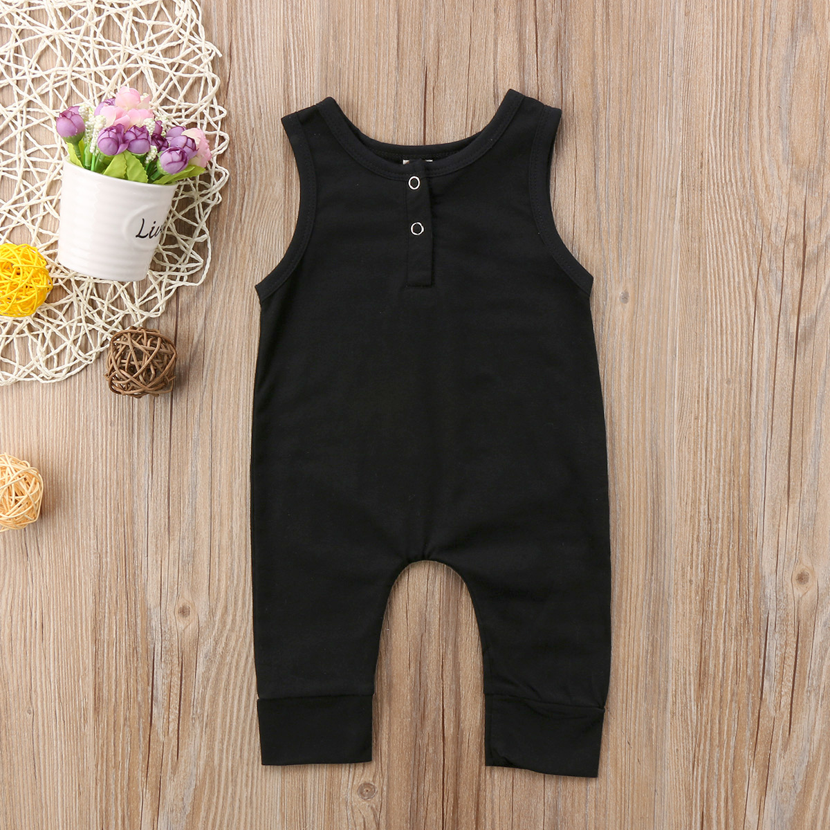 Pudcoco Baby Jumpsuits 0-18M AU Infant Boy Girl Clothes   Romper   Toddler Kid Baby Girls Jumpsuits Pants Clothes