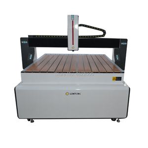 LINTCNC new type 4 axis 1.5kw 2,2kw water cooled 1212 cnc router metal/Aluminum cutting machine