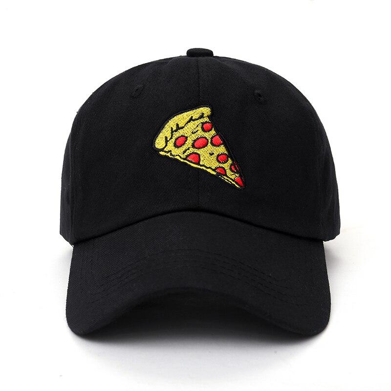 XUYIJUN 2019 New Pizza Embroidery   Baseball     Cap   Trucker Hat For Women Men Unisex Adjustable Size:55-62 Dad   Cap   Hats