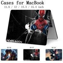 Para portátil MacBook caso para el ordenador portátil MacBook Air Pro Retina 11 12 13,3 de 15,4 pulgadas con Protector de pantalla teclado Cove