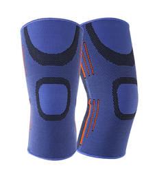 Колена компрессионный рукав наколенника Extra Large Поддержка для бега Баскетбол Crossfit приседания Тяжелая атлетика артрит боли в колене