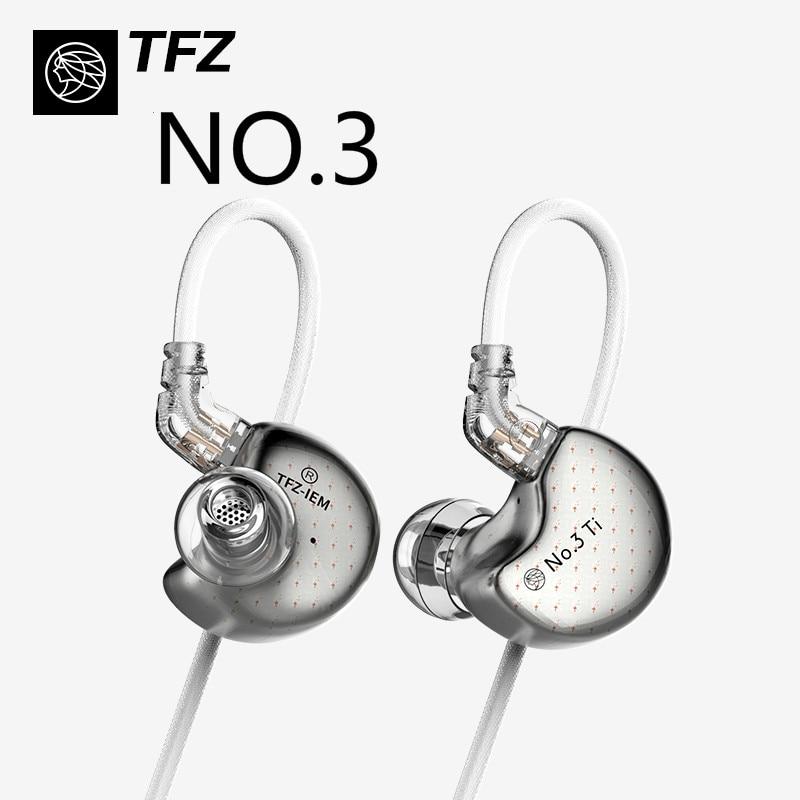 TFZ No 3 Third Generation Dynamic Unit In Ear Music Headphones Professional HIFI Monitor Earphones 3