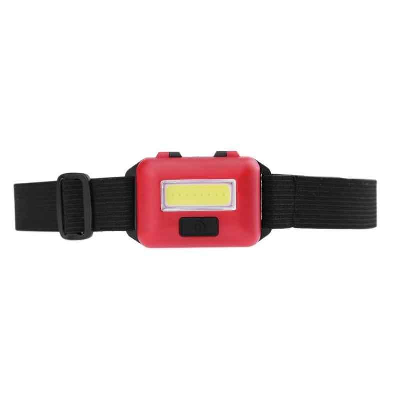 3 モード防水 cob led 懐中電灯屋外ヘッドライトヘッドランプトーチ緊急用活動 aaa バッテリー