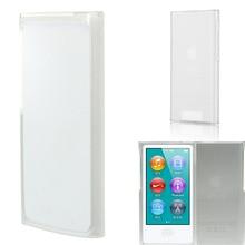 Прозрачный, из ТПУ, гелевый чехол-накладка для Apple iPod-Nano-7th поколения 7G защищает от царапин и потертостей
